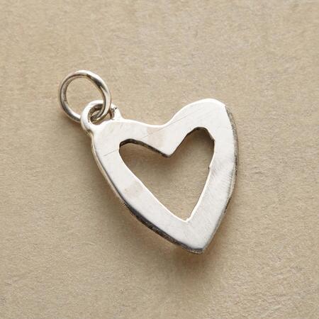 FAITH & LOVE HEART CHARM