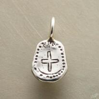 FAITH & LOVE CROSS CHARM