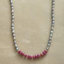 RUBY REBEL NECKLACE