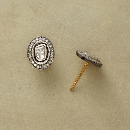 ILLUMINA DIAMOND GEMSTONE EARRINGS