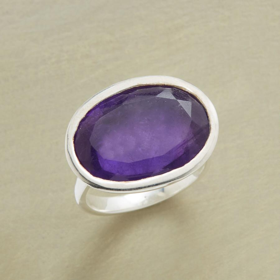 HELP YOURSELF AMETHYST RING