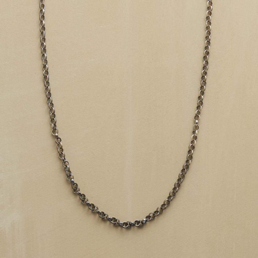 """24"""" STERLING SILVER CHAIN CHARMSTARTER NECKLACE"""