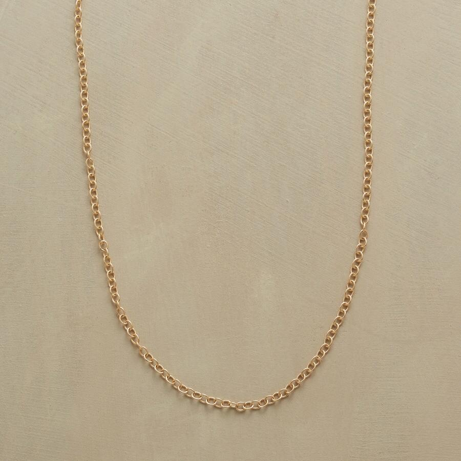 """24"""" GOLD CHAIN CHARMSTARTER NECKLACE"""