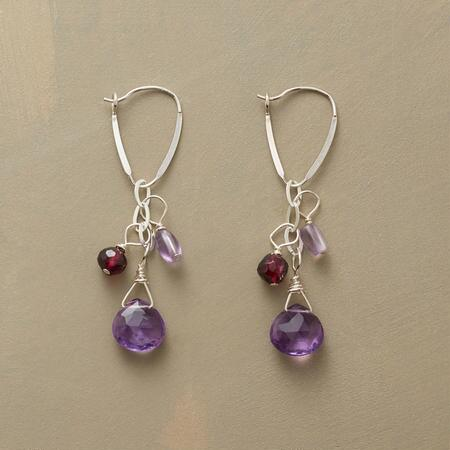 PURPLE SPECTRUM EARRINGS