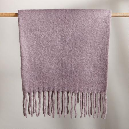 SWEET SURRENDER LILAC THROW