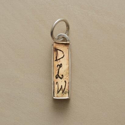 GOLD & SILVER PERSONALIZED TREASURE BOX CHARM