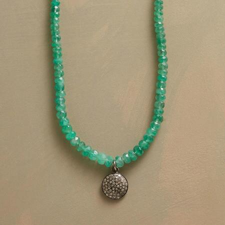 CENTAURI EMERALD NECKLACE