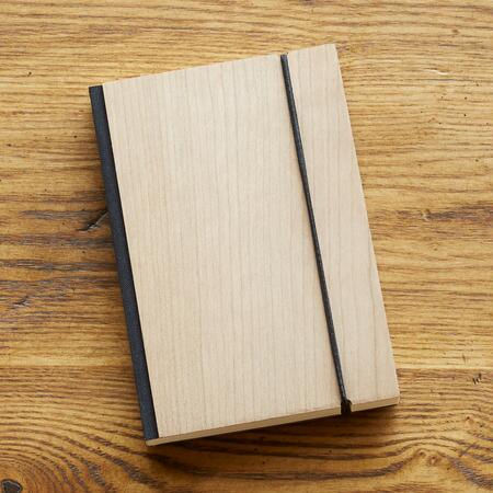 PETITE CHERRY WOOD NOTEBOOK