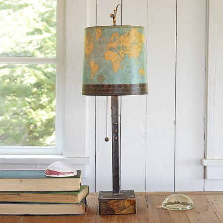 GLOBAL VILLAGE SMALL TABLE LAMP