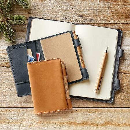 WOLFRAM LOHR LEATHER NOTEBOOKS