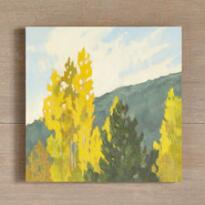 POPLAR FALL PAINTING