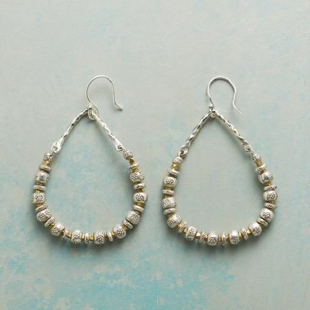 TRAIL CREEK HOOP EARRINGS