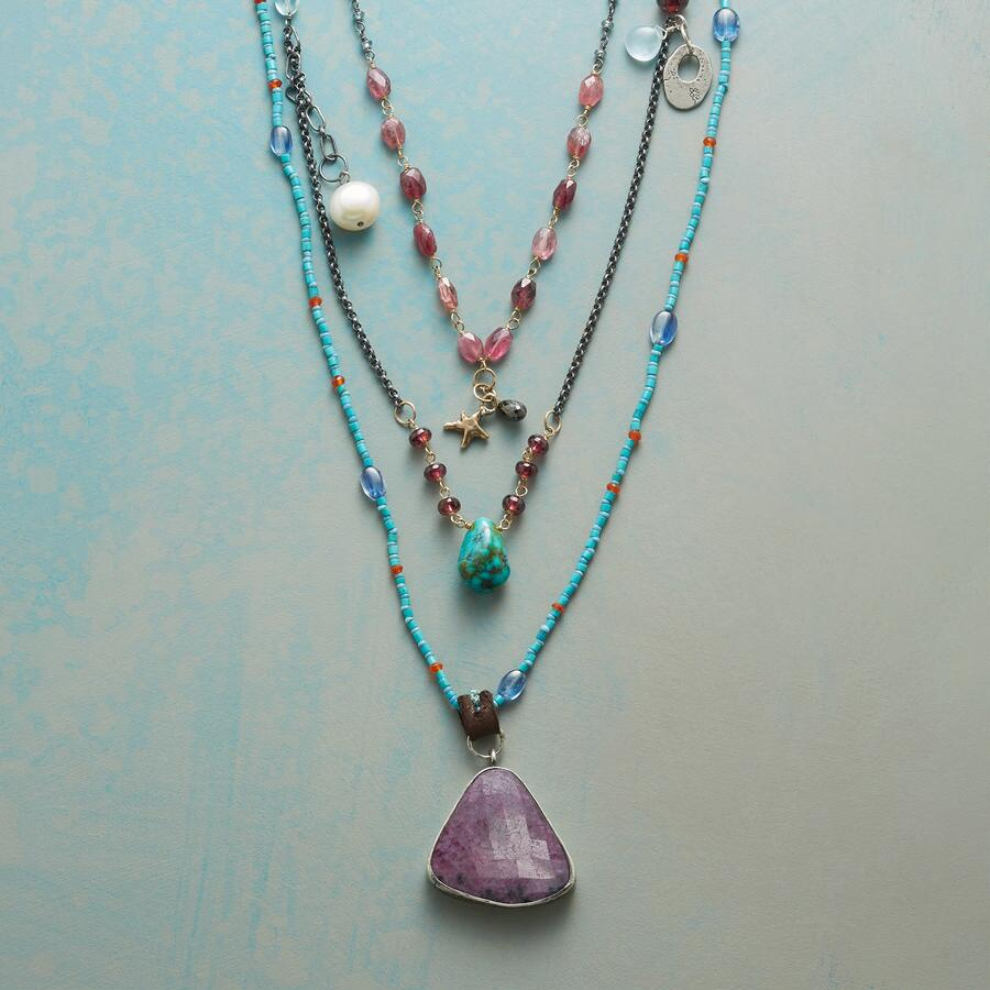 TRIPLE THE TREASURES NECKLACE
