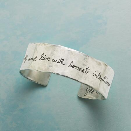 LIFE INTENTION CUFF