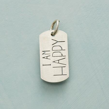 HAPPY SWEET SENTIMENT CHARM SS
