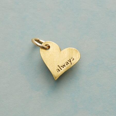 14KT GOLD DIPPED ALWAYS CHARM