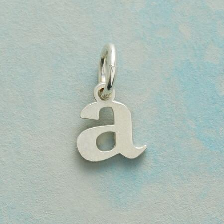 STERLING SILVER LOVE LETTERS CHARMS