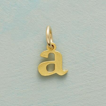 LOVE LETTERS CHARM GOLD