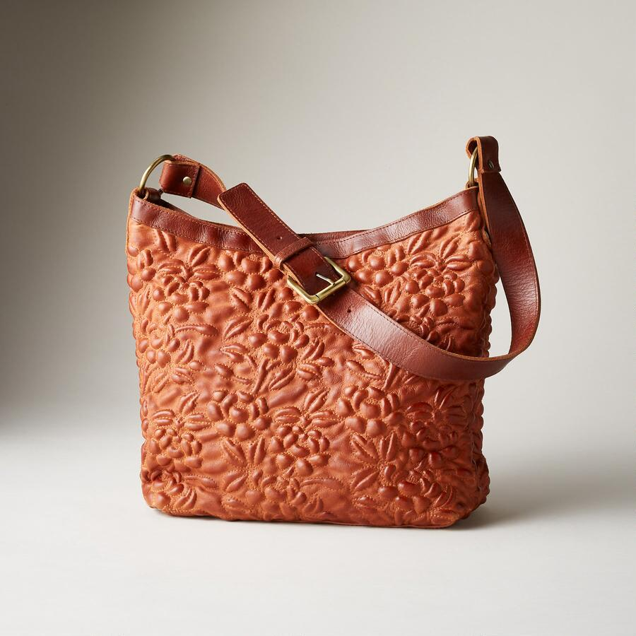 Soft Quilted Leather Floral Bag Robert Redford S