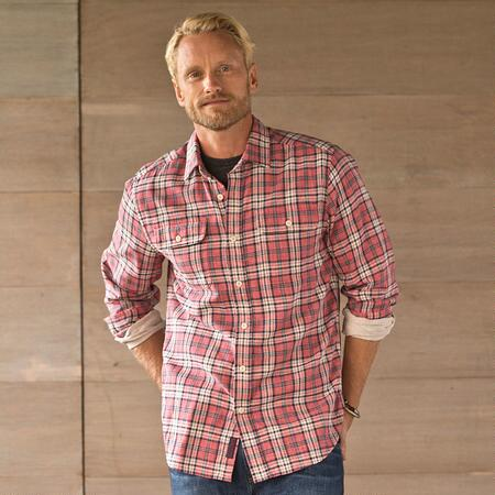 BOATWRIGHT PLAID SHIRT