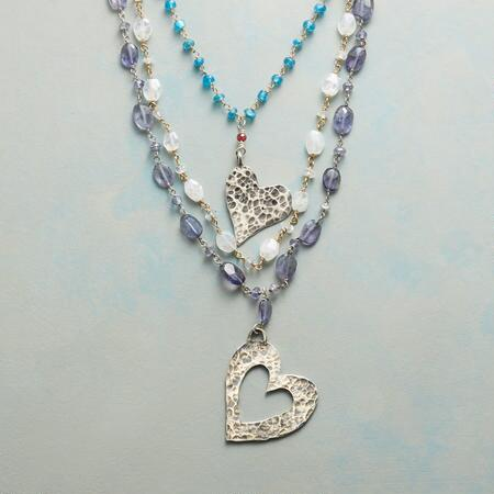 SINGSONG HEARTS NECKLACE