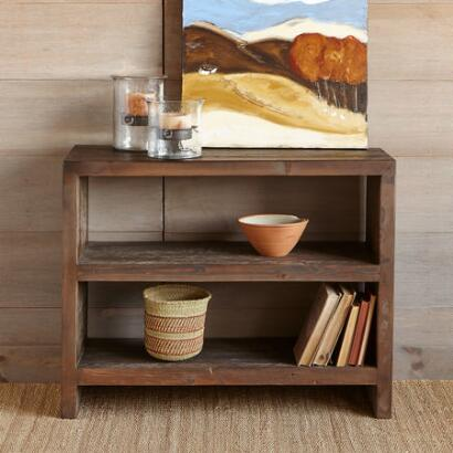 OLD GROWTH BOOKSHELF