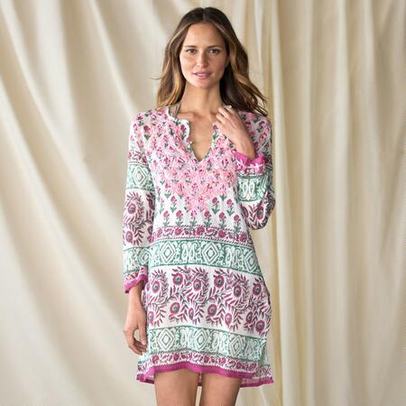SUMAC BLOSSOMS TUNIC