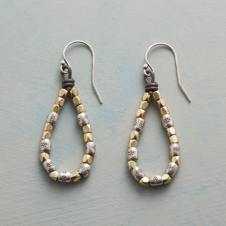 EYELET LOOP EARRINGS