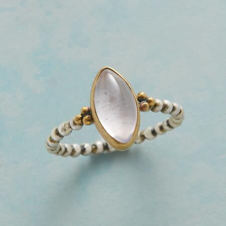 ROSE MARQUISE RING
