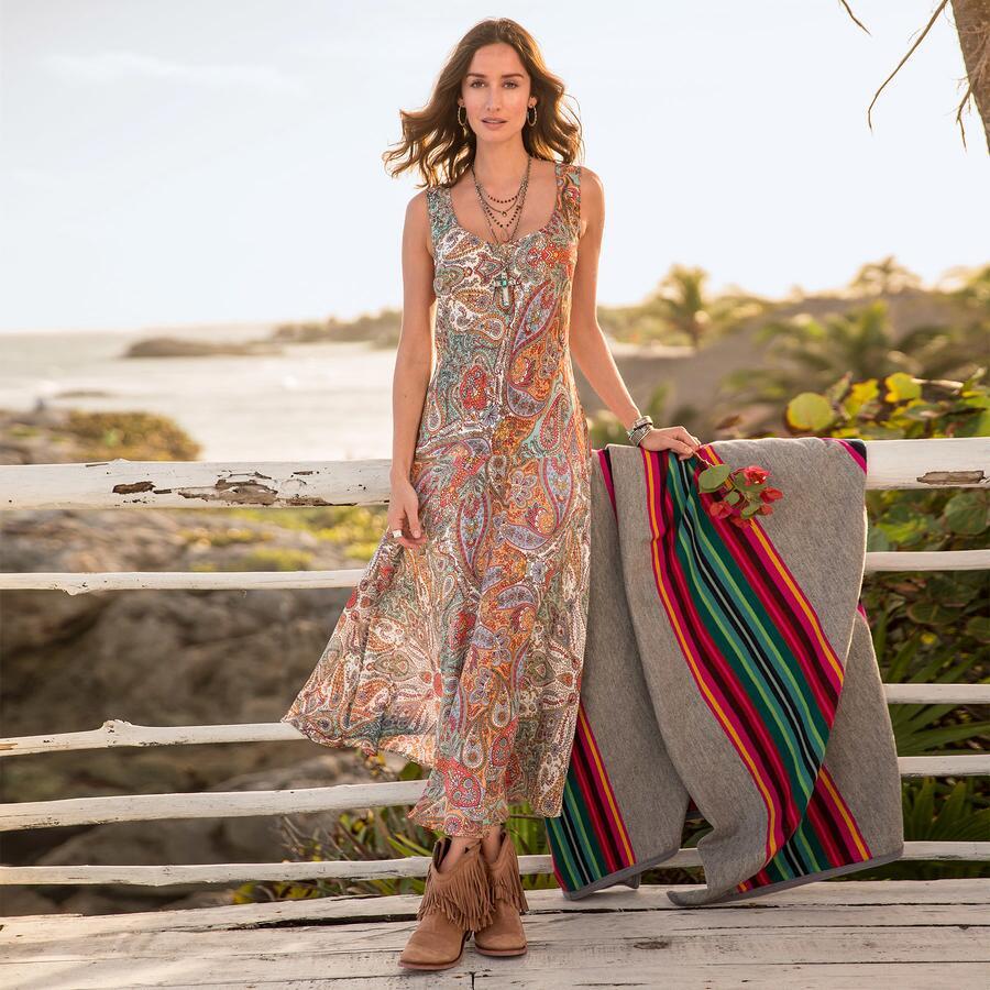 PAISLEY PASSION DRESS