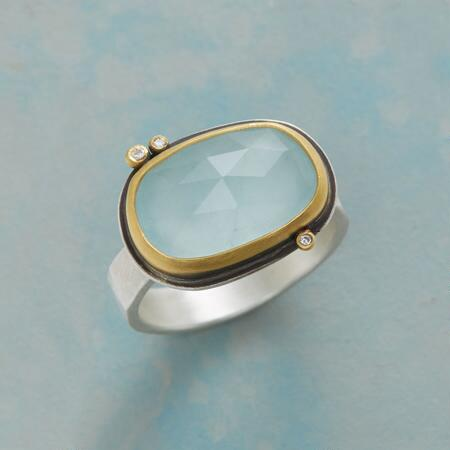 DIAMOND DOTTED SKY RING