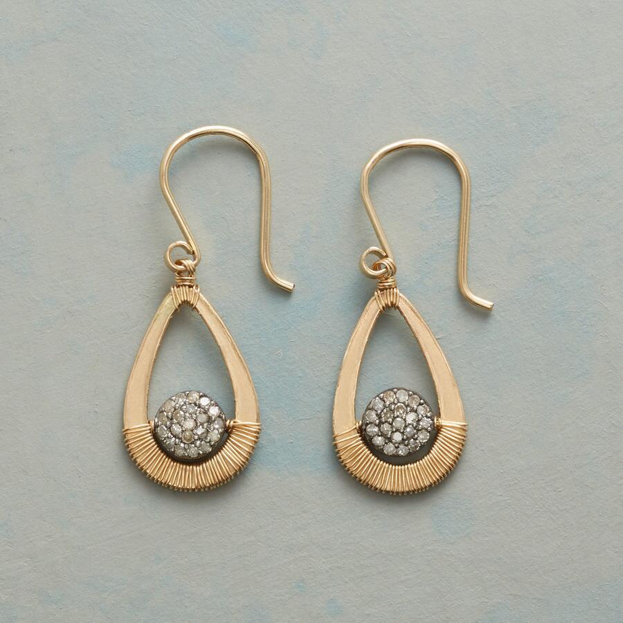 DIAMOND SUNSET EARRINGS