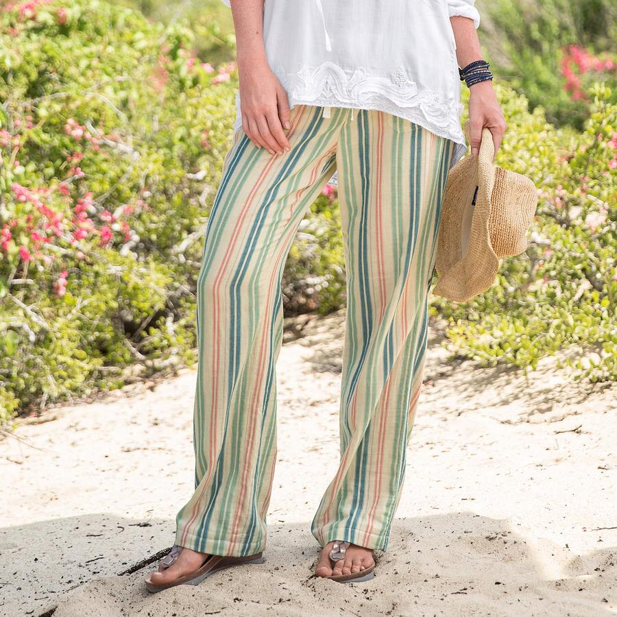 SAUSALITO STRIPED PANTS