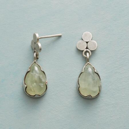PREHNITE TRIAD EARRINGS