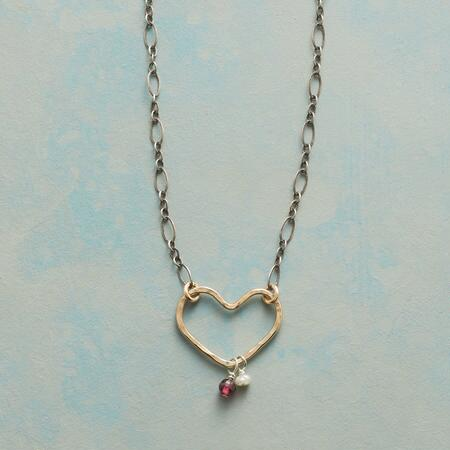 COLLAGE HEART NECKLACE