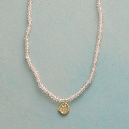 MINI DIAMOND PENDANT NECKLACE