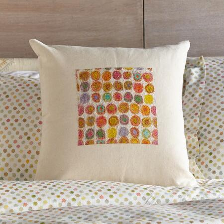 SUNLIGHT CIRCLES PILLOW (FG)