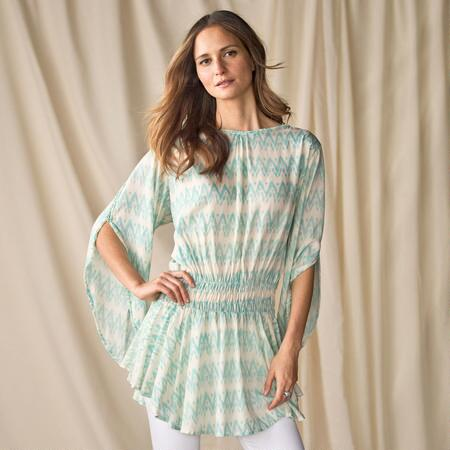 SHROUDED ANDES TUNIC