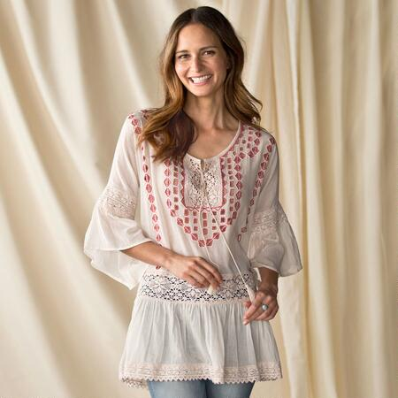 ALL IN CLOVER TUNIC