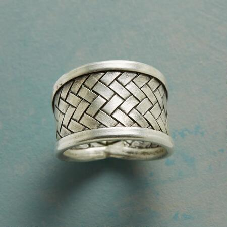 TIME WOVEN RING