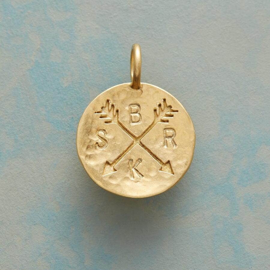 14KT GOLD PLATE CUPID