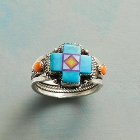 KINGMAN CROSS RING