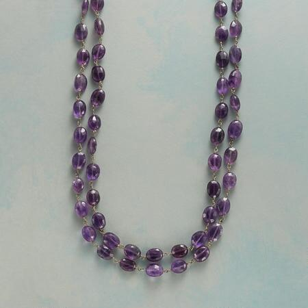 SWEET VIOLET NECKLACE