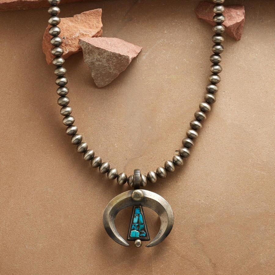 CONTEMPORARY STERLING NAJA NECKLACE