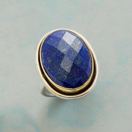 HARLEQUIN BLUES RING