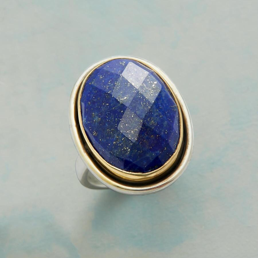 HARLEQUIN BLUES RING