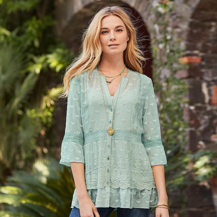 MISTY DREAMS TUNIC - PETITES