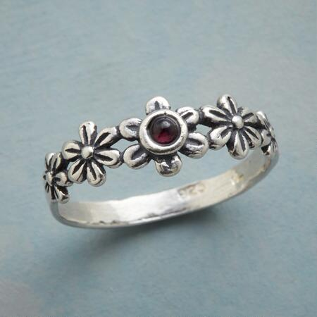 PASSION FLOWER RING