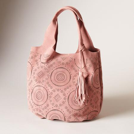 DELIGHT SUEDE BAG