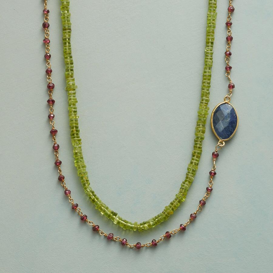 EYE OF THE PEACOCK NECKLACE